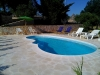 Trullo con piscina